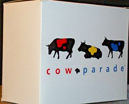 CowParade Moooonwalk (Resin) Westland Giftware # 9120 AA-191919  Vintage Collect image 5