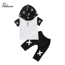 2Pcs Newborn Baby Girls Kids Floral Hoodie Hooded Tops +Pants Outfit Set... - $12.39