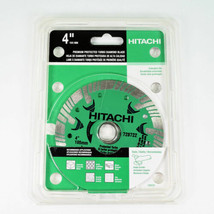 "Hitachi 4"" Premium Protected Turbo Diamond Blade Dry Cutting Extended Life - $19.32"