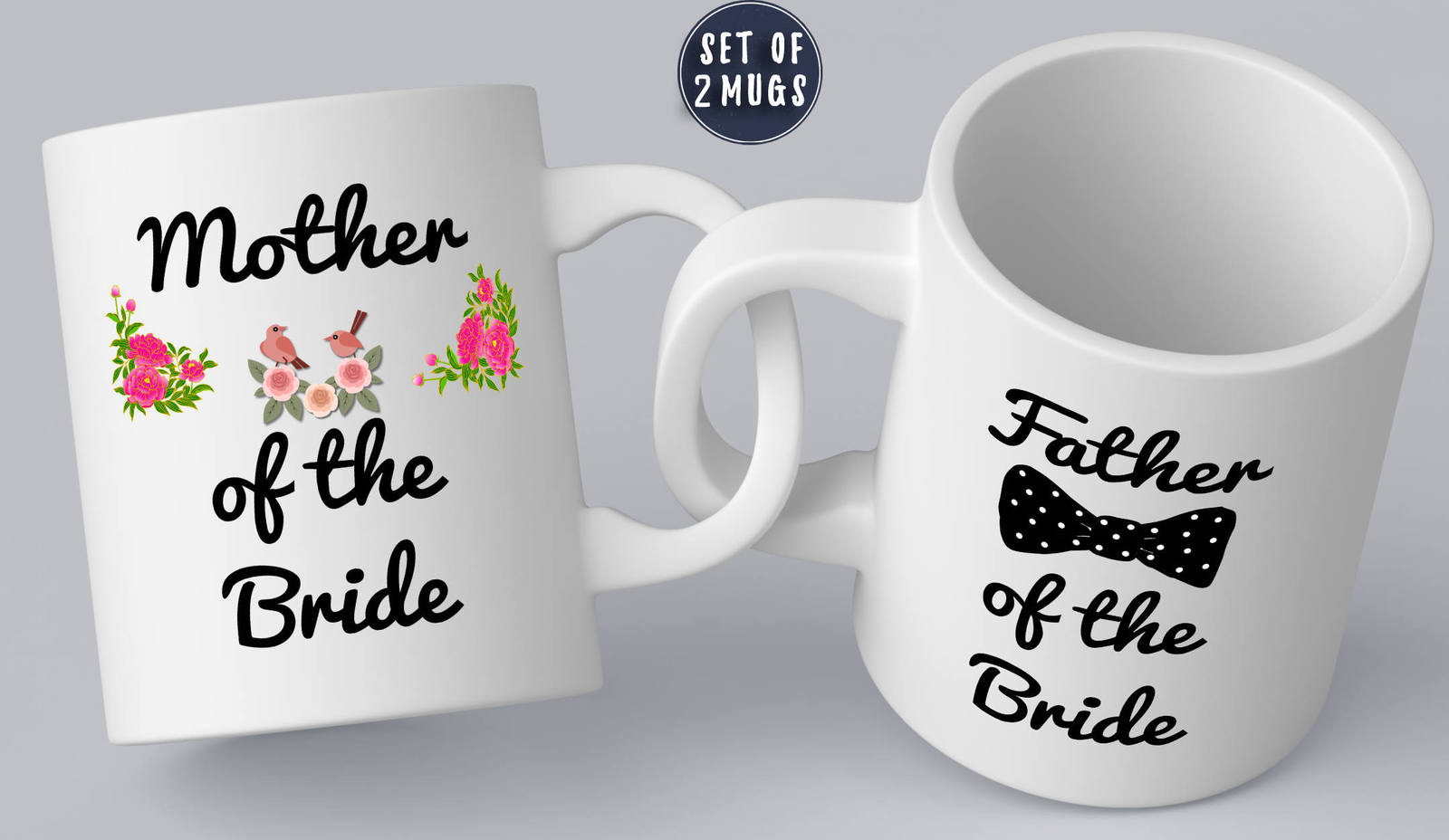 Mother Of Bride Mug Father Of Bride Mug Set Mother Of Bride Gift Bridal Party