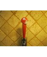 NCAA Rutgers Scarlet Knights Tap Handle Kegerator Football Beer Keg Red ... - $25.69