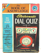 Vintage 1961 Transogram Electromatic Dial Quiz The Book Of Knowledge #38... - $23.33