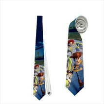 necktie toy story woody green alien - $22.00