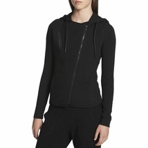 Calvin Klein Performance Womens Hooded French Terry Vest, Size XS, Black - $31.08