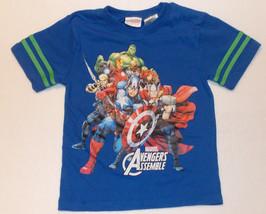 Marvel Avengers Assemble Boys T-Shirt Size XS 4-5 NWT - $13.57