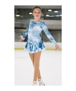 Mondor Model 2739 Ladies Skating Dress Aquamarine  - $114.99