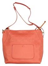 MCM Women's Large Pink Cocoa Leather Monogram Leather  Klara Hobo Crossb... - $432.39