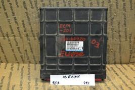 2003 Mitsubishi Eclipse Engine Control Unit ECU MR988514 Module 493-9e7 - $73.50