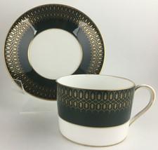 Coalport Chateau Green Cup & saucer - $15.00