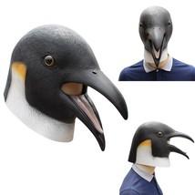 1 Pc Halloween Penguin Mask Fancy Costume Headgear for Decoration Men Gift Women - $24.99