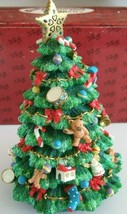 Victorian Christmas Tree San Francisco Music Box Co OTannenbaum - Rotate... - $22.50