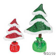 Whimsical Christmas Curly Tabletop Trees - $16.61