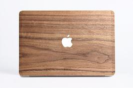 Walnut Wood Macbook Case - Macbook Cover Skin Sticker for Air Pro 11 13 15 - $50.99+