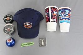 7 Piece New York Islanders NHL Hockey Souvenirs Cups, Pin, Christmas Bal... - $49.49