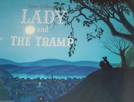 Walt Disney Art Lady Tramp Lithographs Mint Suitable Framing Childs Room - $89.95
