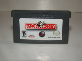 GAME BOY ADVANCE - MONOPOLY (Game Only) - $10.00