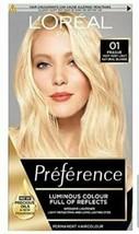 2 X L'oreal Preference Prague Very Very Light Natural Blonde Hair Dye Lightener - $30.44