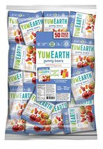 YumEarth Gluten Free Gummy Bears, 0.7 Ounce Snack Packs, 50 pack image 2