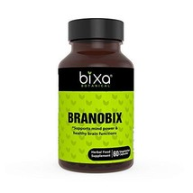 Branobix | Supports Mind Power & Healthy Brain Functions | 60 Veg Capsules - $17.99