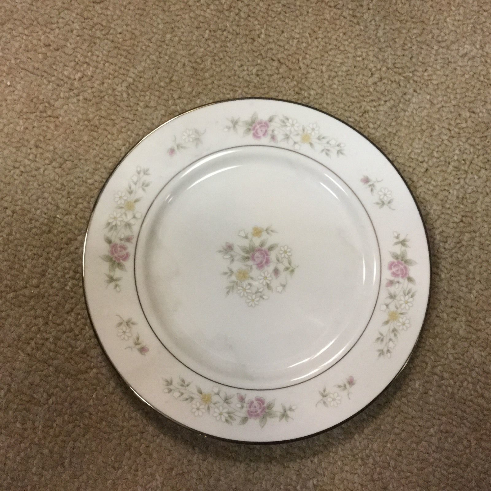 Lenox China Set Bouquet Collection Meadow Pinks From Japan - 16 Place Setting image 2