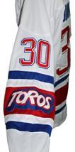 Any Name Number Toronto Toros Retro Hockey Jersey New White Binkley Any Size image 4