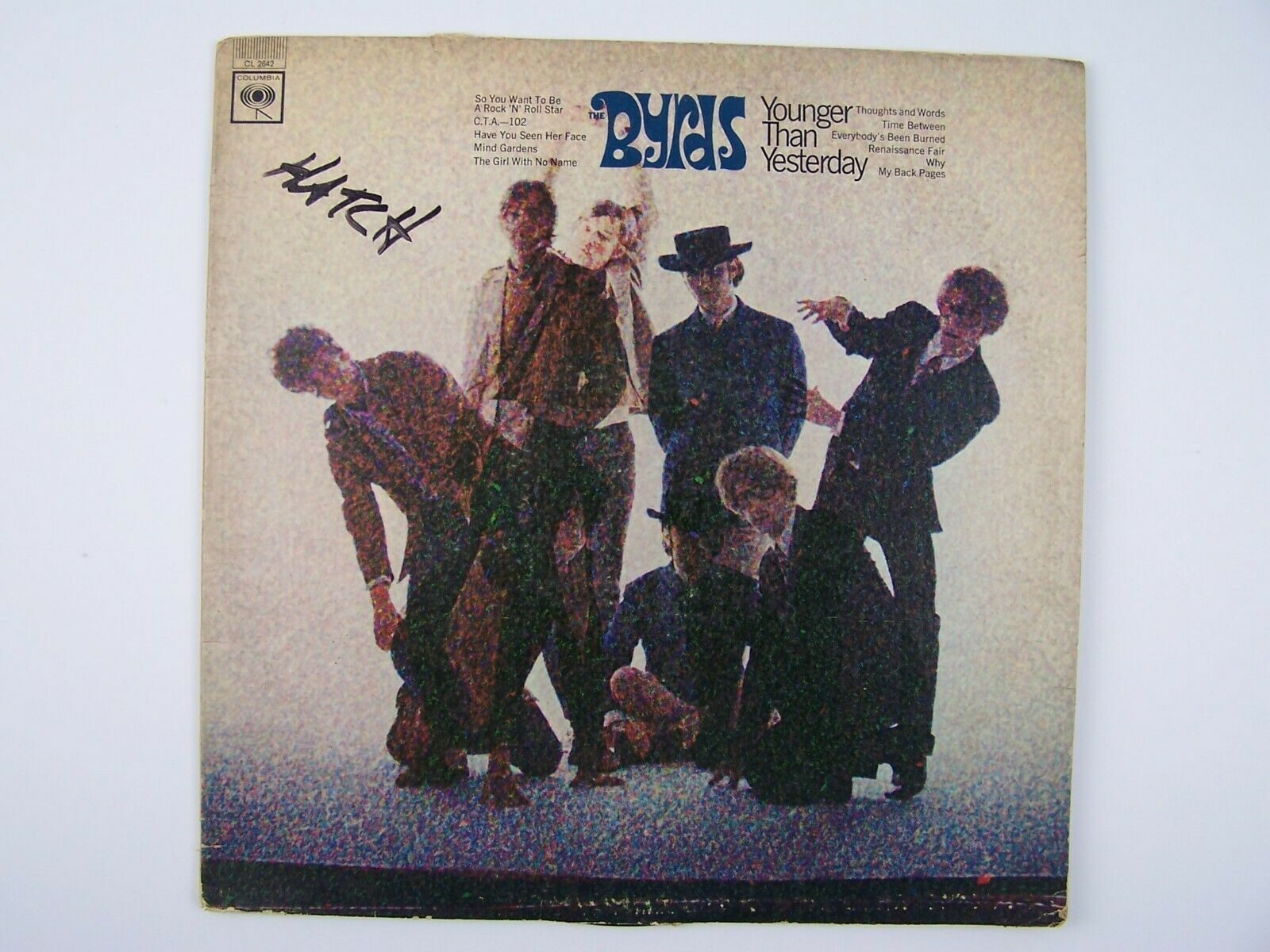 Primary image for The Byrds - Younger Than Yesterday Vinyl LP Record Album CL 2642 MONO