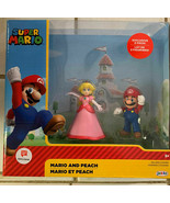 Super Mario and Peach Walgreens Exclusive 2-Pack Jakks Pacific HTF New - $26.59