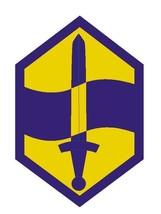 US Army 460th Chemical Brigade Sticker Military Forces 12'' Sticker - $24.74