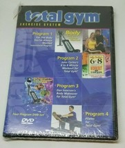 Total Gym Exercise System 2 DVD 6 to 8 Minute Workout Body Makeover Pila... - $24.99