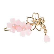 Disney Store Japan Winnie the Pooh SAKURA Cherry Blossom Hairpin Hair Cl... - $34.65