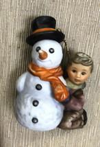 Goebel Berta Hummel My First Snowman Ornament #935121 - $11.88