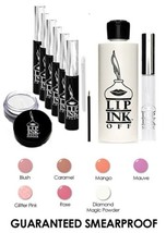 LIP INK Organic  Smearproof Lip color Kit Bridal Collection  - Spring Summer - $146.17