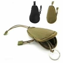 EDC Mini Key Wallets Holder Men Coin Purses Military Army green Camo Bag... - £3.77 GBP