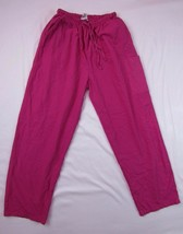 "JUST LOVE UNIFORMS Pink Nursing Medical Scrub Pants Size XL Inseam: 28"" - $10.03"