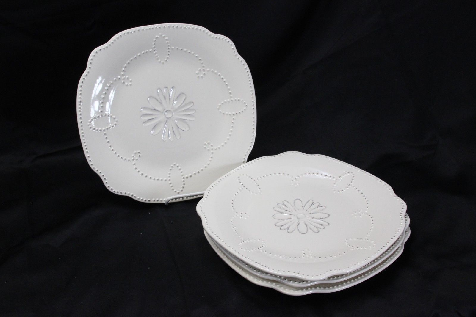 "American Atelier Gabrielle Dinner Plates 11"" Set of 4"