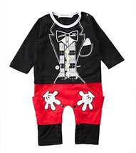 stylesilove Baby Boy Mickey Mouse Inspired Costume Jumpsuit 90/18-24 Mon... - $21.97
