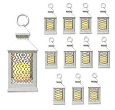 "The Nifty Nook Farm House Lanterns {12 Pc Set} 10"" Decorative Lanterns w... - $140.27"
