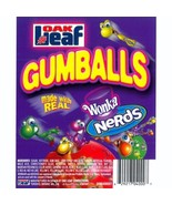 """WONKA NERDS 1"""" Gumballs 17 LBs Candy Filled Gum Ball - $69.99"""