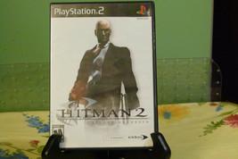 Hitman 2: Silent Assassin (Black Label PlayStation 2 PS2 2003) Complete - Tested - $6.88