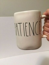 RAE DUNN Artisan Collection by Magenta - Coffee Mug 'PATIENCE' Ivory Cre... - $24.88