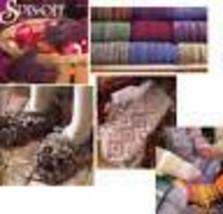 Spin-off magazine winter 2002: spontaneous knitting, russian mittens, crochet + - $14.80