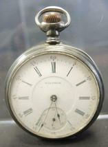 1890s Waltham 16S 17 Jewel Riverside Grade Open Face Silver Pocket Watch - $166.24