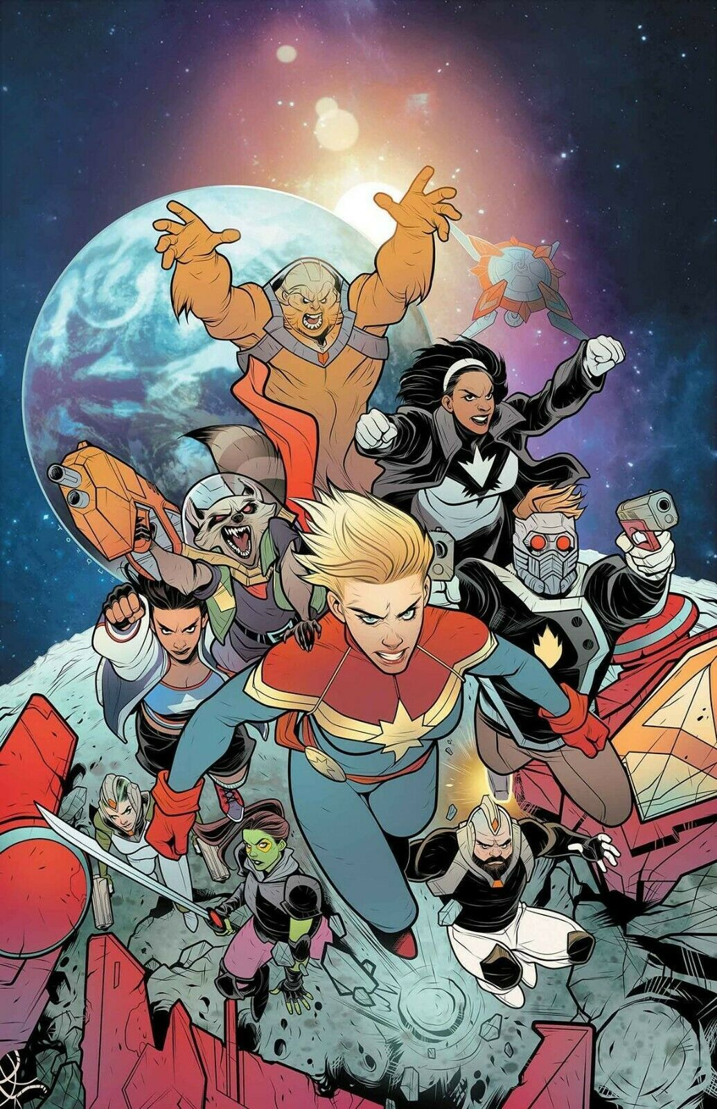 Mighty Captain Marvel (2016) Marvel #7 Stohl Bandini New Comic Book Comics