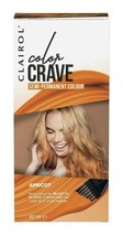 2 X Clairol Colour Crave Apricot Semi Permanent Hair Dye Warm Orange Wash Out - $11.88
