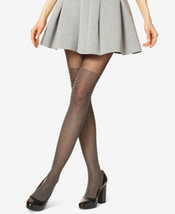 T49 - Hue Black Women's Shimmer Accent Stripe Tights - M/L - €9,73 EUR