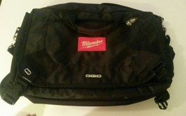 "Milwaukee Tools Embroidered Ogio Corporate City 13""x18""x6"" Messenger Bag... - $91.31 CAD"