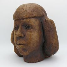 Rudy Autio 1951 Studio Pottery Portait in Sculpture Presentation Piece image 4