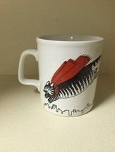 KLIBAN CAT Vintage Mug Super Hero Fat Cat With Cape Kiln Craft England - $24.99