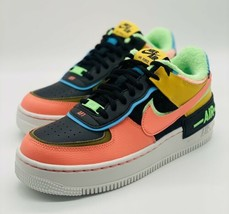 NEW Nike Air Force 1 Shadow SE Solar Flare CT1985-700 Women's Size 9 - $158.39