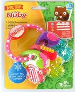 Nuby Ice Gel Teether Keys, 1 pack Pink - $17.99